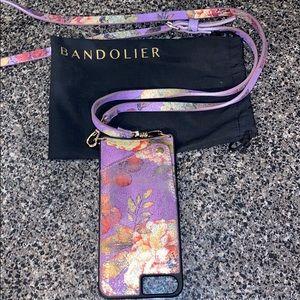 Bandolier iPhone 7Plus crossbody phone case wallet